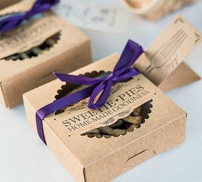 Sweetie pies mini favour packaging kit