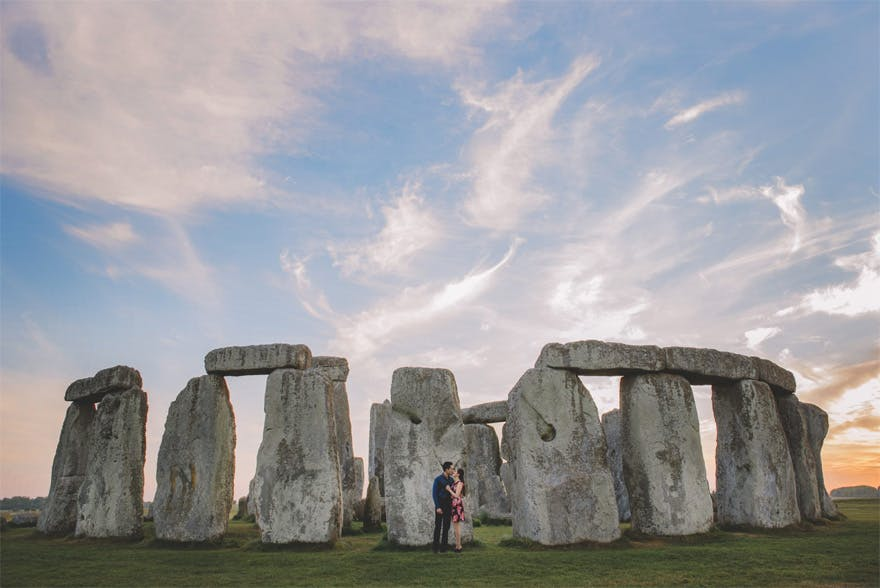 Stonehenge Engagement Shoot by Emma Jane Photography | Confetti.co.uk