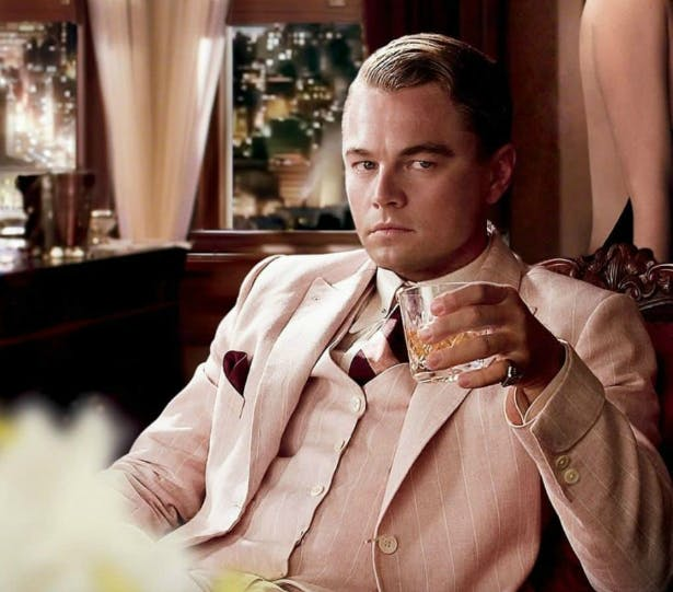 Leonardo DiCaprio in a Pink Suit | Confetti.co.uk