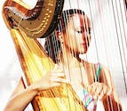 Harp wedding music by Bands for Hire | Confetti.co.uk