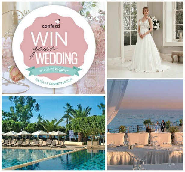 ENTER HERE to win a wedding | Confetti.co.uk