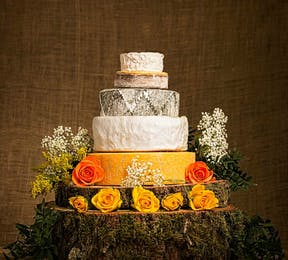 Cheese Wedding Cake | Confetti.co.uk