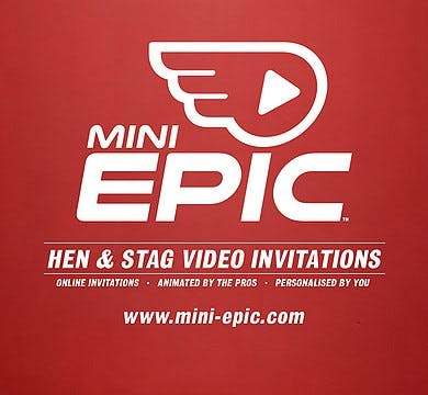 Mini Epic Online Video Invitations for hen and stag dos | Confetti.co.uk
