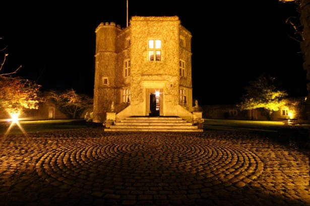 Walton Castle at night | Confetti.co.uk