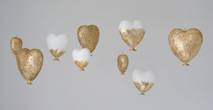 DIY Love Heart Decor | Confetti.co.uk