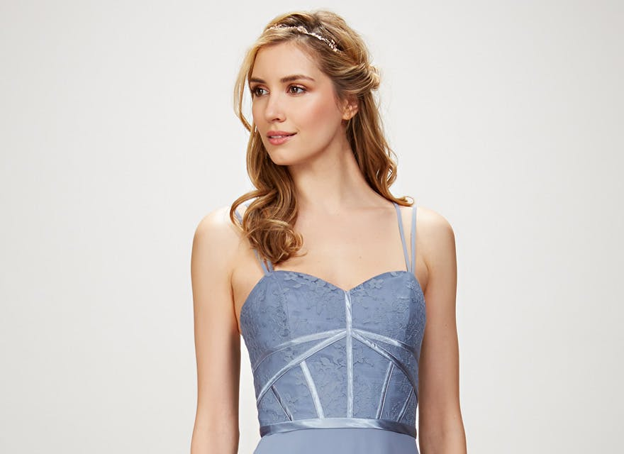 Elena STYLE 910132 by Theia Couture - Blue Bridesmaid Dress | Confetti.co.uk