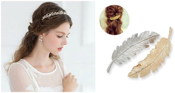 Wedding hair accessories | Confetti.co.uk