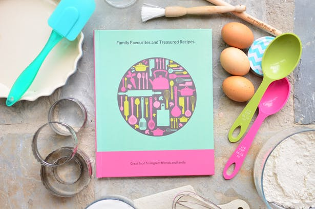 Recipe Gift Book Modern Design | Confetti.co.uk