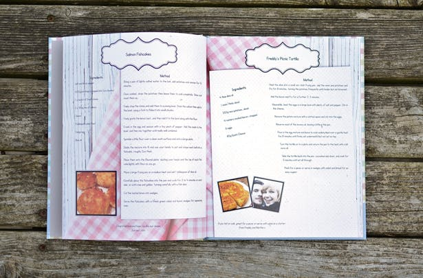 Recipe Gift Books Inside Recipes | Confetti.co.uk