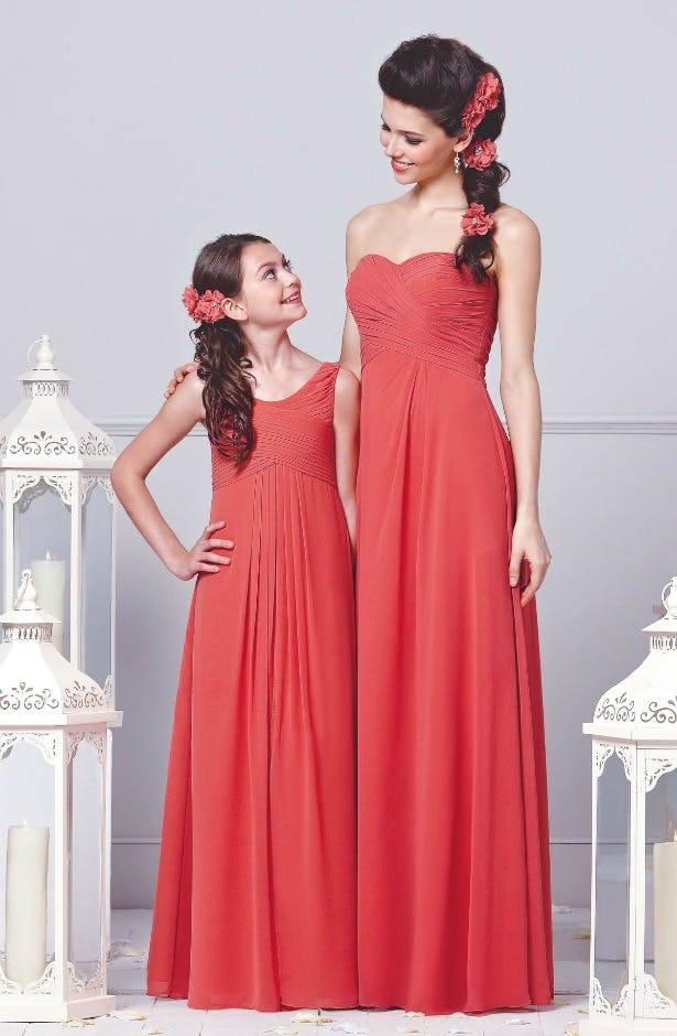 Veromia bridesmaid dresses in styles DAF21350 and DAB11350 | Confetti.co.uk