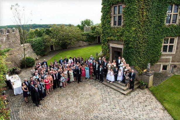 Walton Castle outdoor ceremony | Confetti.co.uk