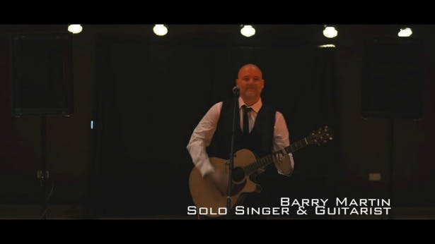 Wedding Entertainment by Barry Martin Solo Singer and Guitarist