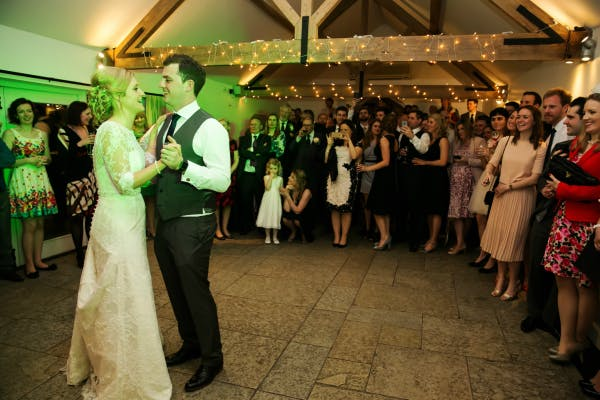 Bride And Groom's First Dance | Confetti.co.uk
