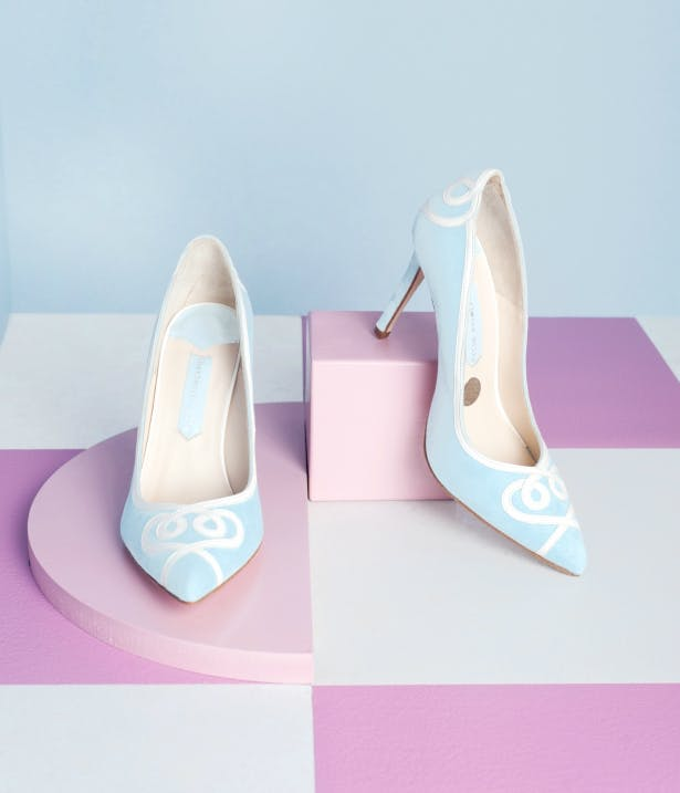 123391970bc9 Charlotte Mills  Luxury Bridal Shoes   Bags - Confetti.co.uk