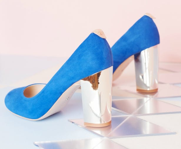 Beatrice Blue From Charlotte Mills | Confetti.co.uk