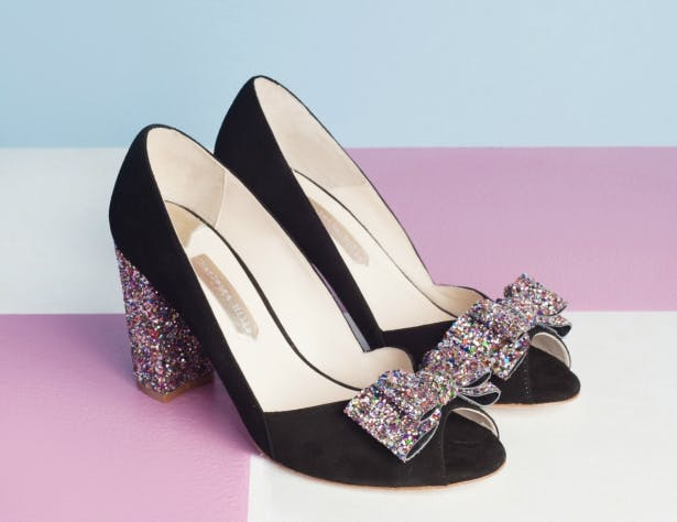 Beck Black Bow From Charlotte Mills | Confetti.co.uk