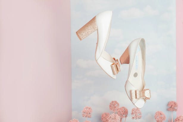 Beck Rose Bow From Charlotte Mills | Confetti.co.uk