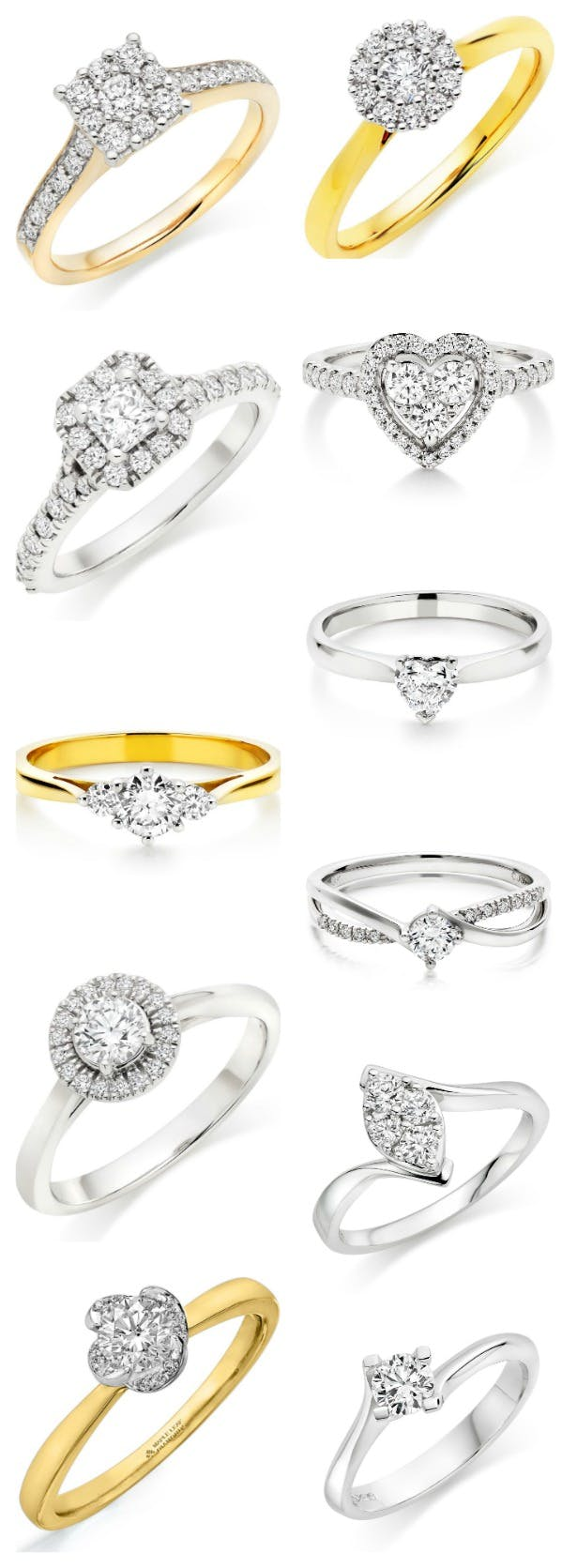 Engagement rings by Beaverbooks and Fraser Hart | Confetti.co.uk