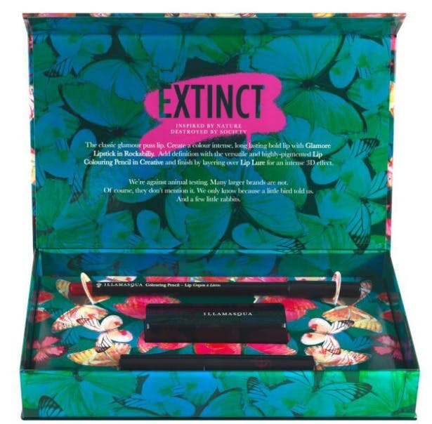 Extinct Illamasque lip beauty set | Confetti.co.uk