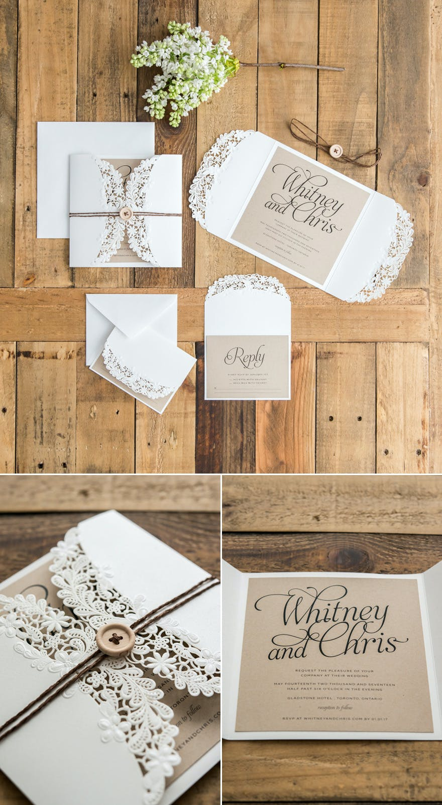 Diy Wedding Invitations Ideas And Inspiration Confetti