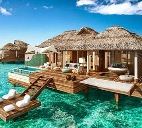 Sandals Over-the-water villas | Confetti.co.uk