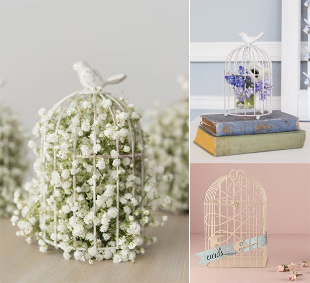 Flower Birdcages | Confetti.co.uk