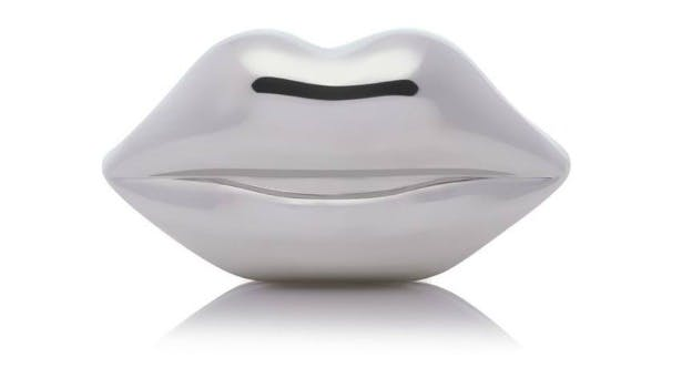 Perspex lips clutch bag by Lulu Guiness | Confetti.co.uk