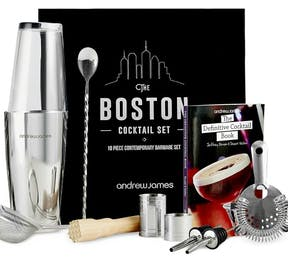 Kitchen Gadgets Boston Cocktail Set | Confetti.co.uk