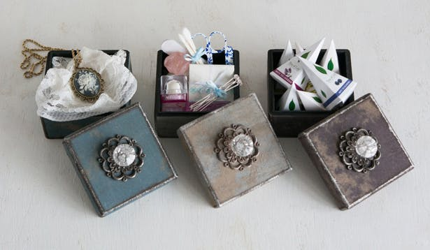 DIY Vintage Boxes | Confetti.co.uk