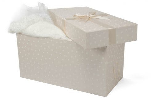 Wedding dress storage by The Empty Box Company | Confetti.co.uk