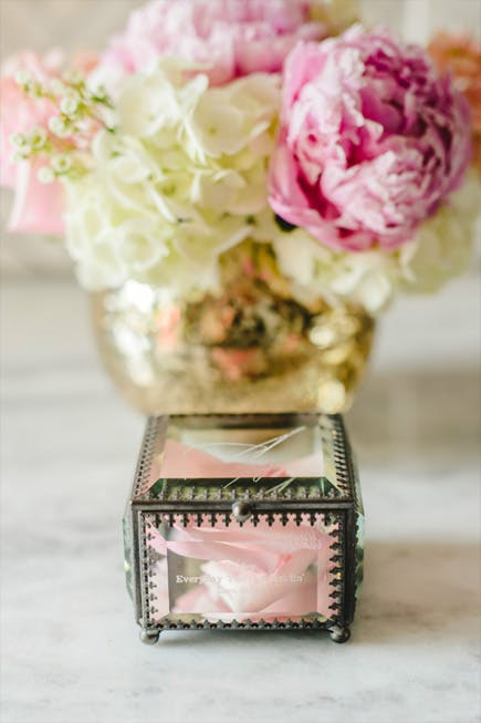 Gifts For Her - Personalised Vintage Inspired Glass Jewellery Box | Confetti.co.uk