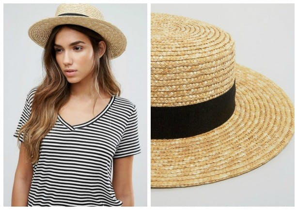 Vero moda straw fedora hat | Confetti.co.uk