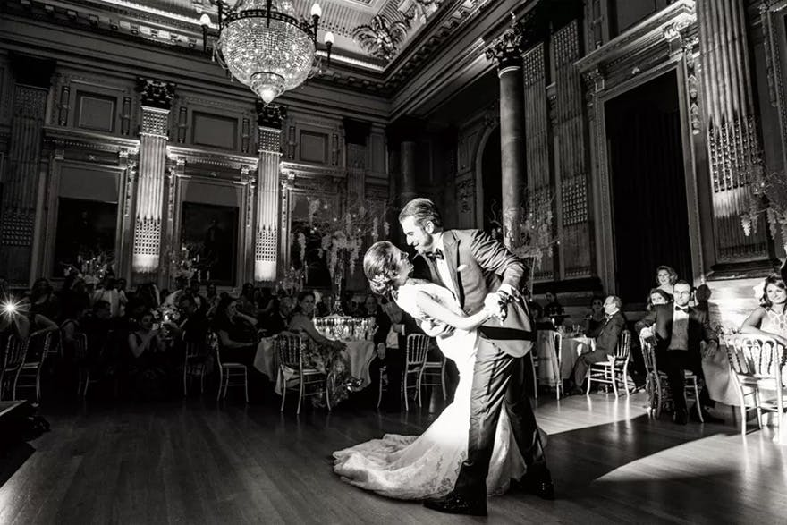 One Great George Street Glamorous London Venue - Couple's First Dance | Confetti.co.uk