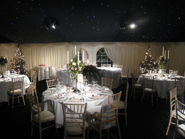 Christmas Wedding Marquee by Richardson Marquees | Confetti.co.uk