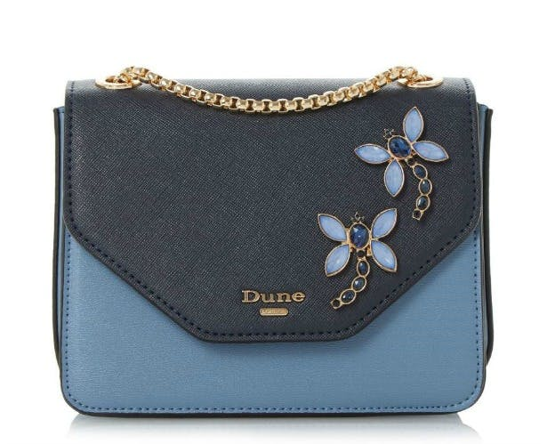 Wedding guests embellished evening bag by Dune   Confetti.co.uk