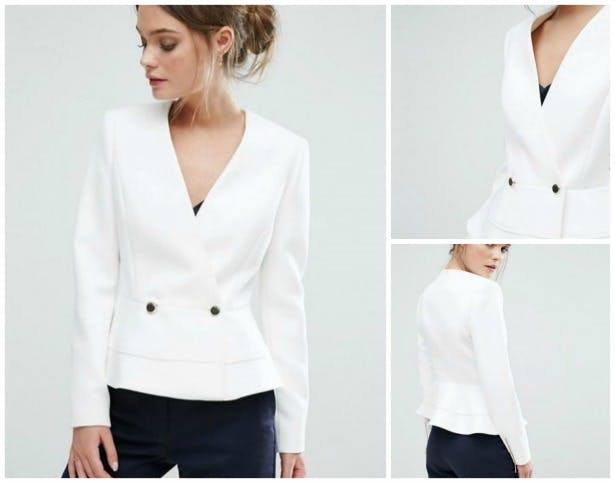 Silaa jacket by Ted Baker   Confetti.co.uk