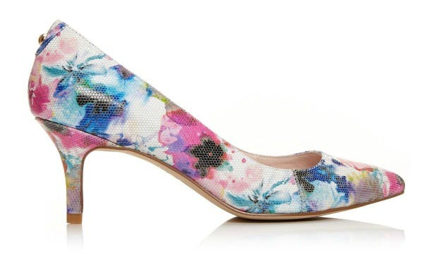 Cambree floral high heels   Confetti.co.uk