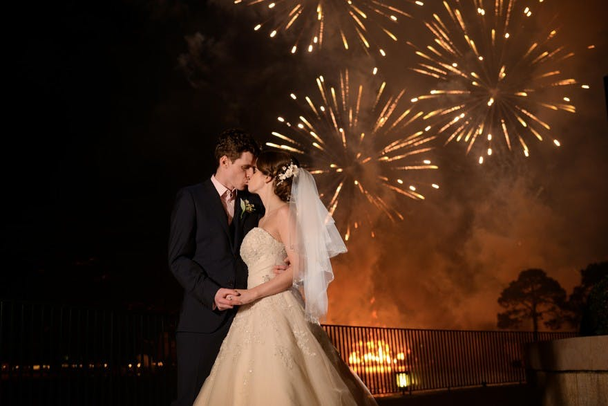 Katy and Matthew's Fairytale Disney wedding | Confetti.co.uk