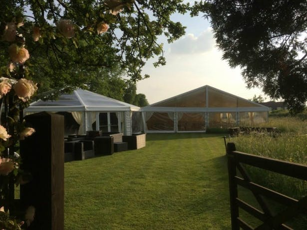 Clearspan Marquee by Richardson Marquees | Confetti.co.uk