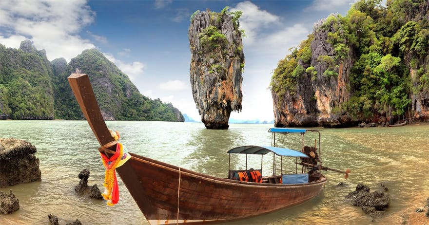 Honeymoon in Thailand by Tinggly James Bond Island | Confetti.co.uk