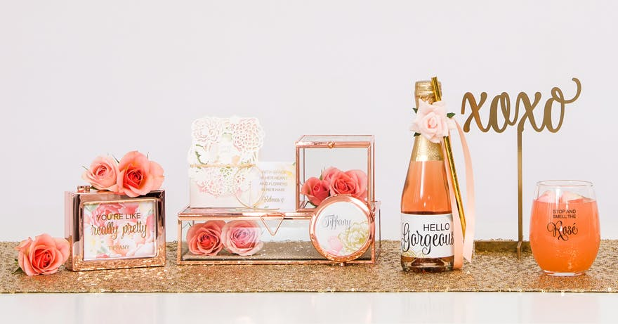 Personalised gifts - Win Your Dream Wedding 2018