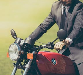 Why Your Wedding Vehicle Should be a Motorcycle | Confetti.co.uk