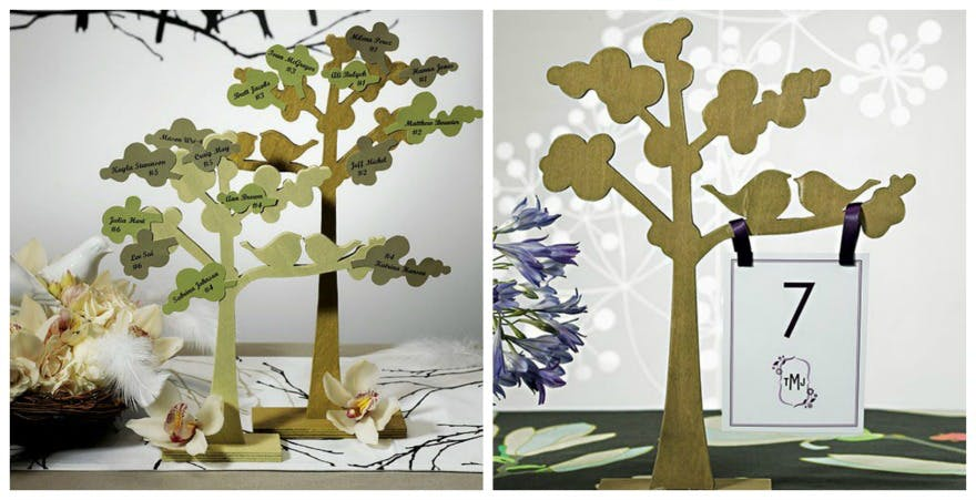 Woodland tree place holder | Confetti.co.uk