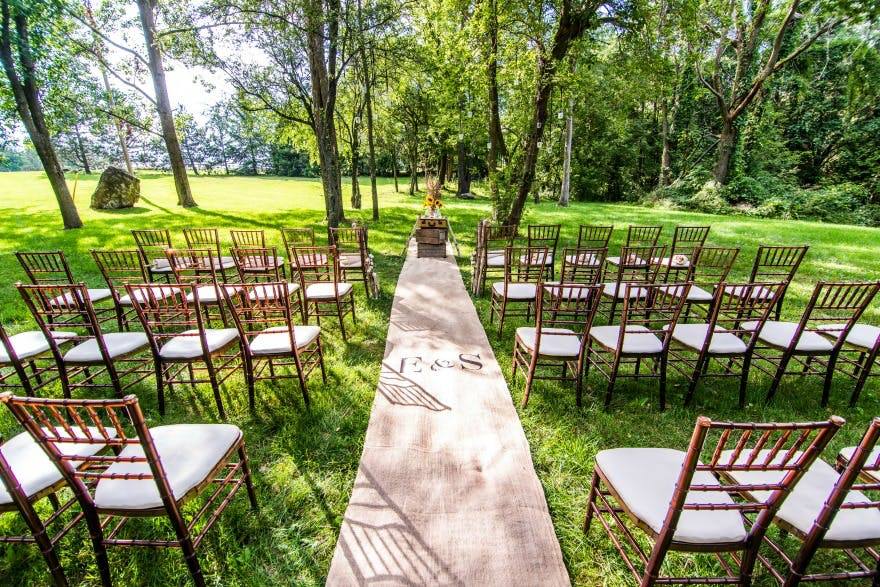Inspiration Outoor Ceremonies: Wedding Aisle Inspiration: How To Decorate Your Wedding
