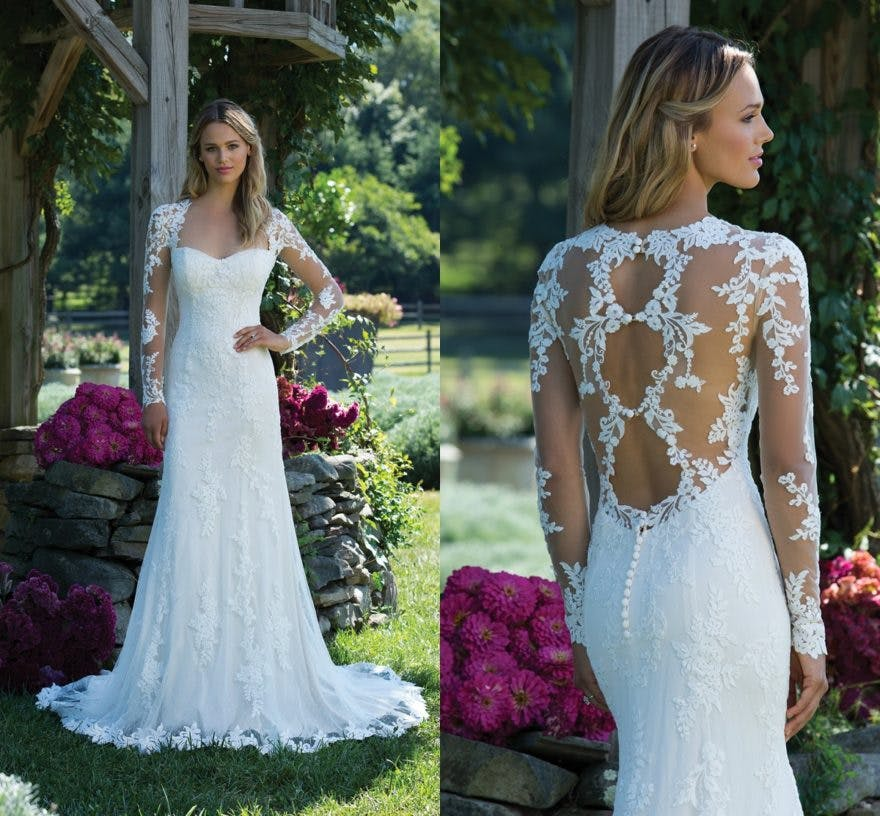 Sincerity Bridal's New Autumn/Winter Collection 2017 style 3981 | Confetti.co.uk