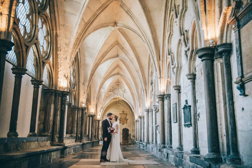 Kristina and Max's Real Wedding at Westminter Abbey   Confetti.co.uk