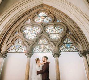 Kristina and Max's Real Wedding at Westminter Abbey | Confetti.co.uk