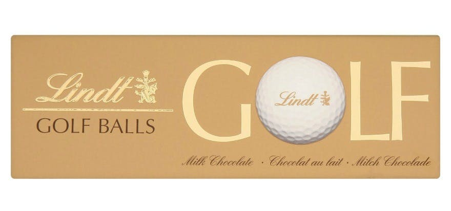 Best Father's Day gift ideas Lindt golf balls | Confett.co.uk