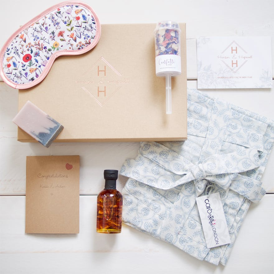 Hanson and Hopewell Indulge wedding gift box | Confetti.co.uk