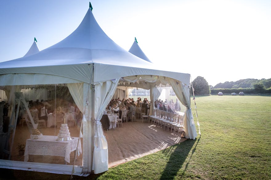 Beautiful Wedding Marquees by Morton's Event Hire | Confetti.co.uk